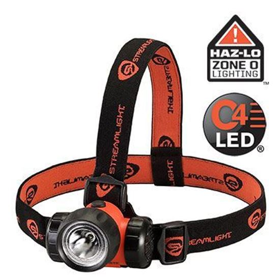 Picture of Lanterna para cabeça Streamlight modelo 3AA HAZ-LO com certificação INMETRO