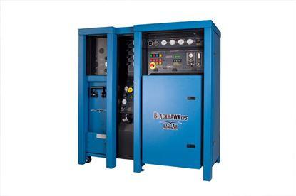 Imagem de Sistema de recarga de cilindros portáteis de ar respirável, em alta pressão EagleAir Blackhawk